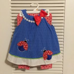 24 month Ladybug outfit by Rare Editions